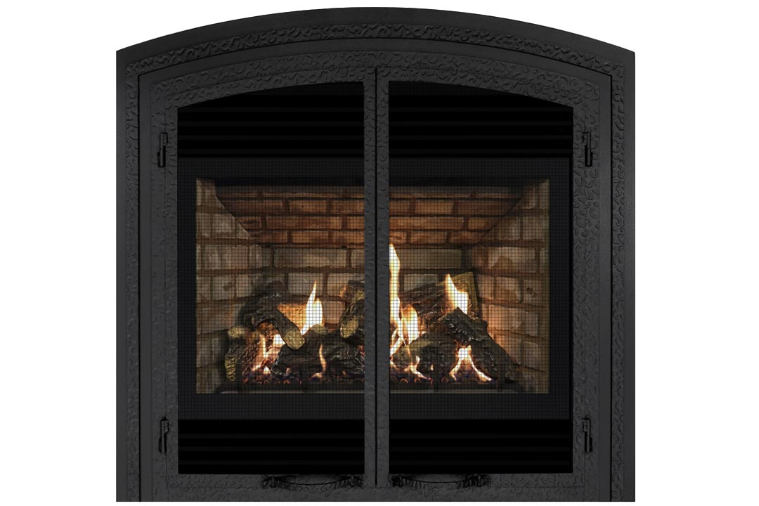 72 gas fireplace fifab grey brick