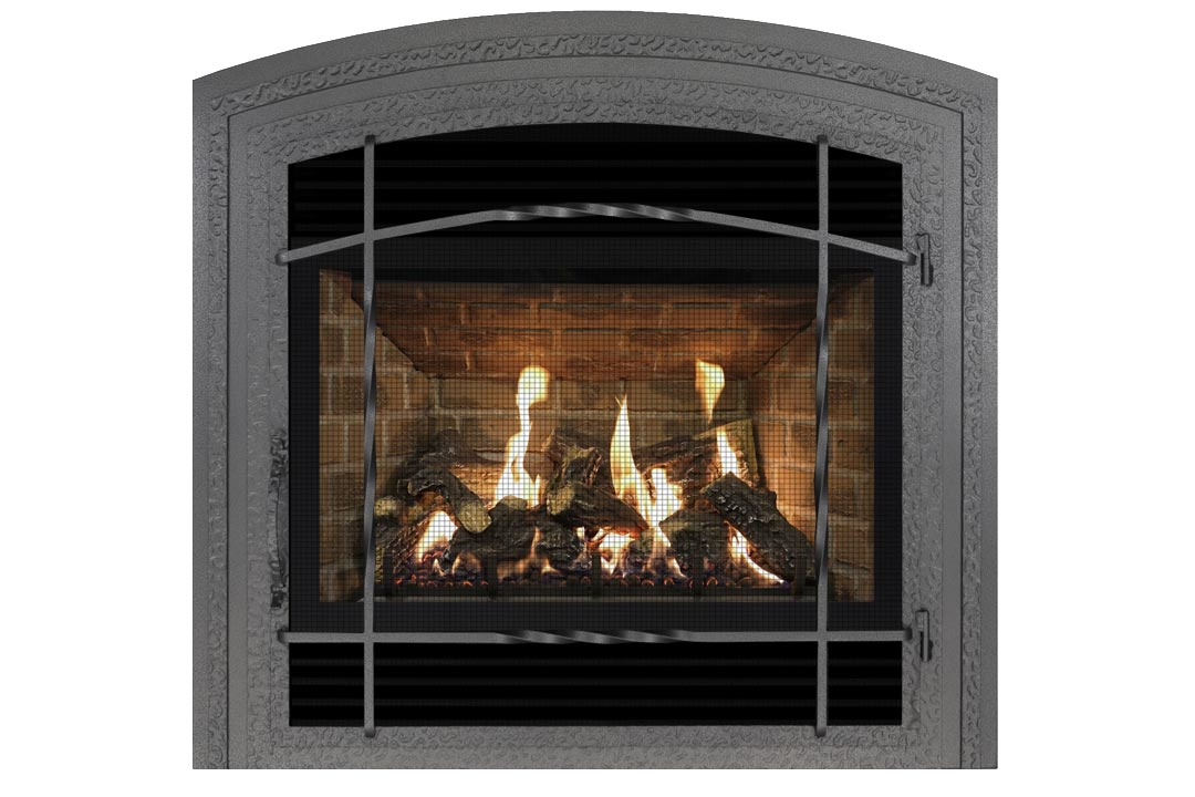 72 gas fireplace wifasdp red brick