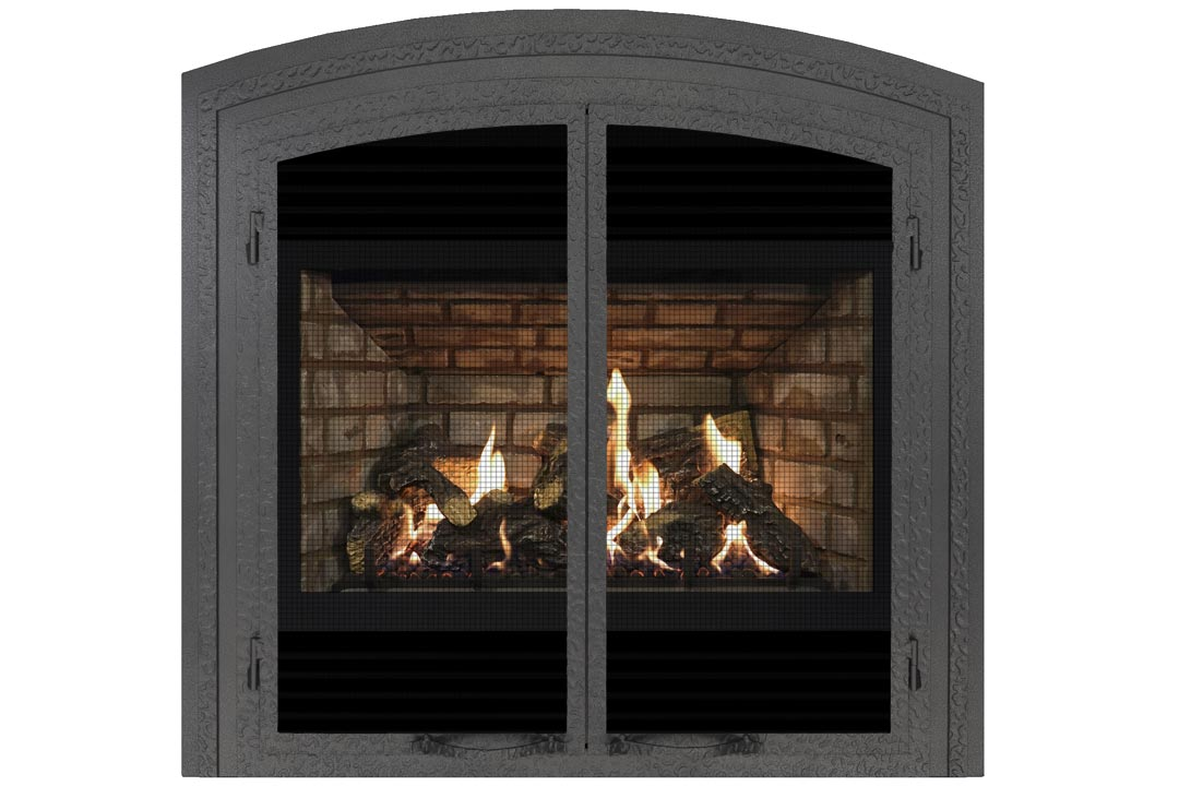 72 gas fireplace fifap grey brick