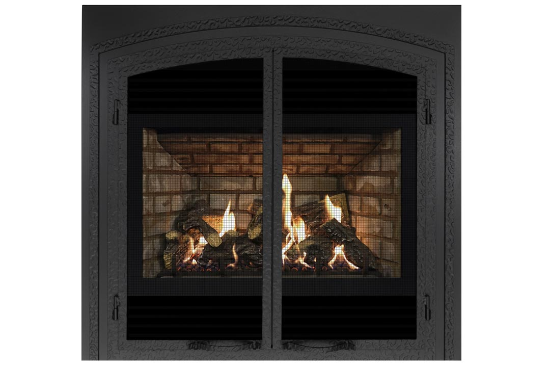 72 gas fireplace fifsb grey brick