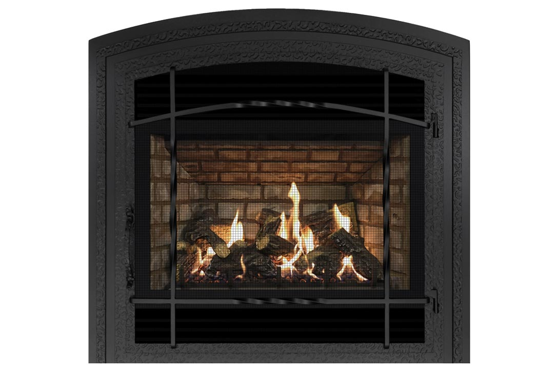 72 gas fireplace wifasdb grey brick