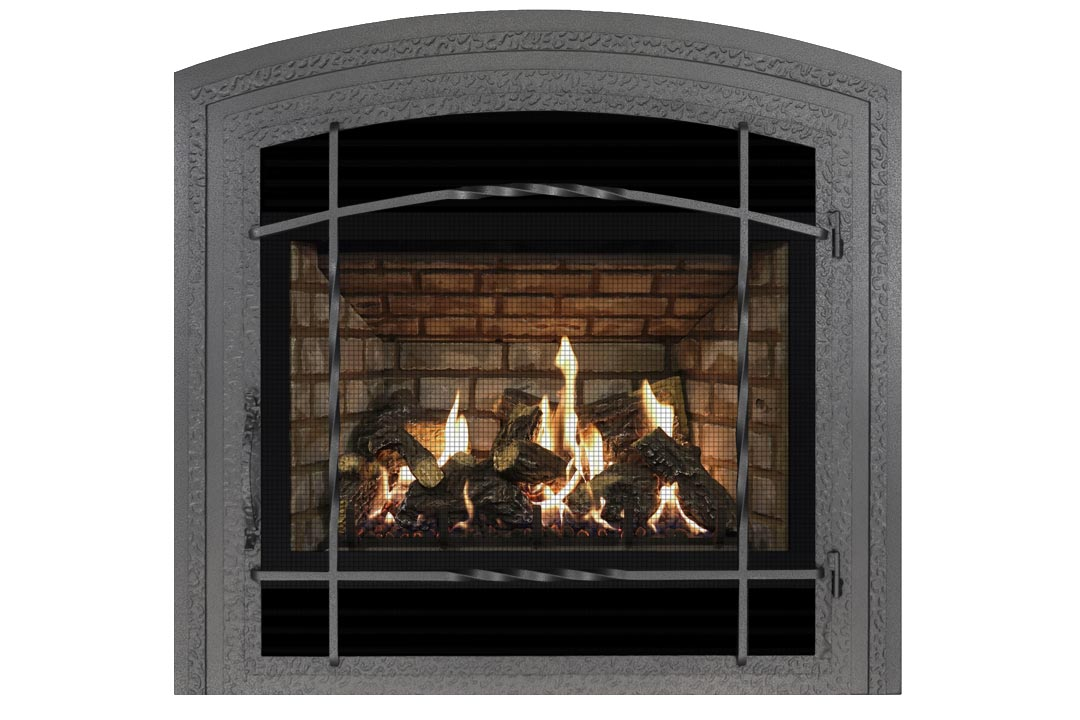 72 gas fireplace wifasdp grey brick