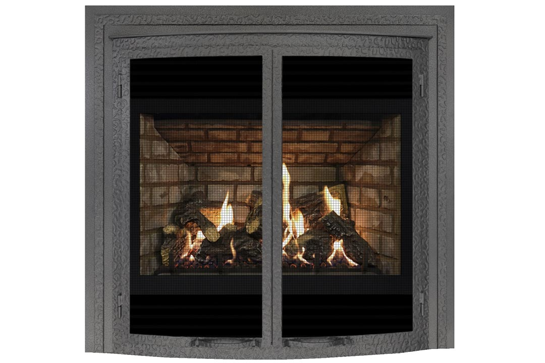 72 gas fireplace fifbowdp grey brick