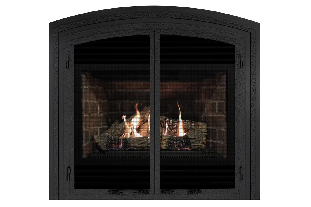 3400 gas fireplace fifab red bricks