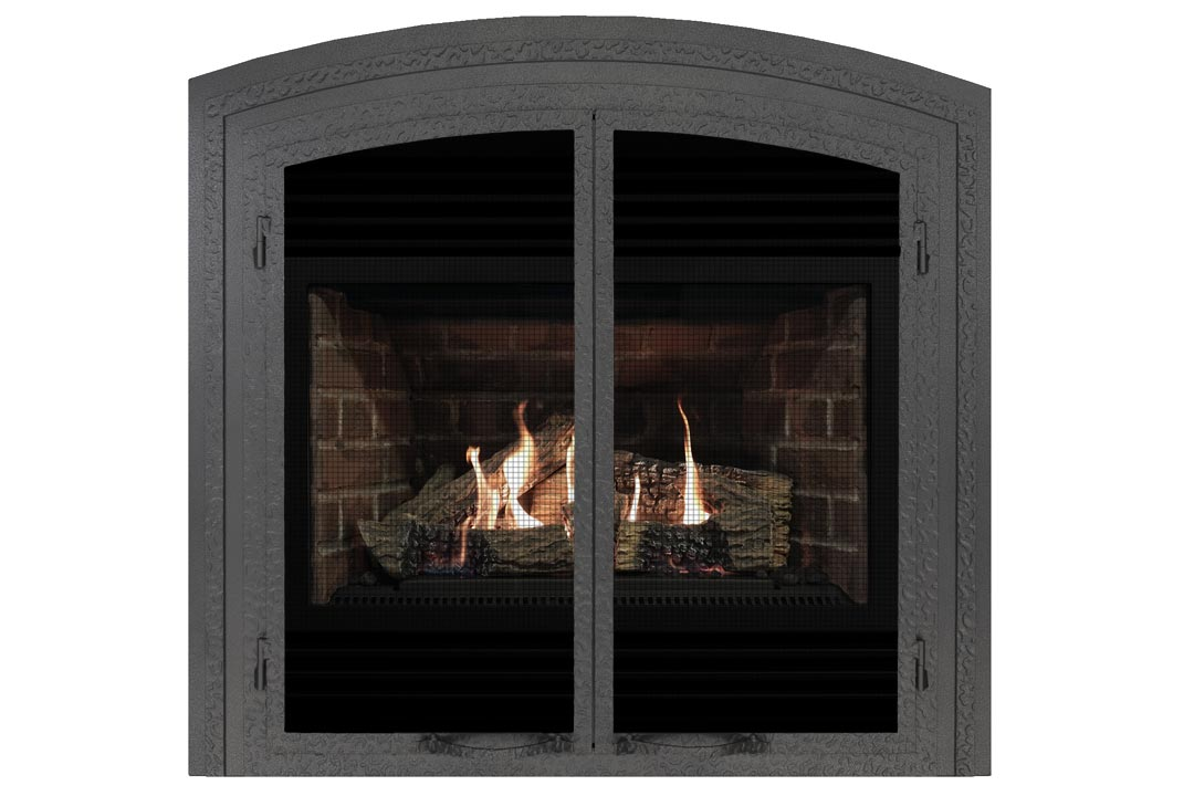 3400 gas fireplace fifap red brick