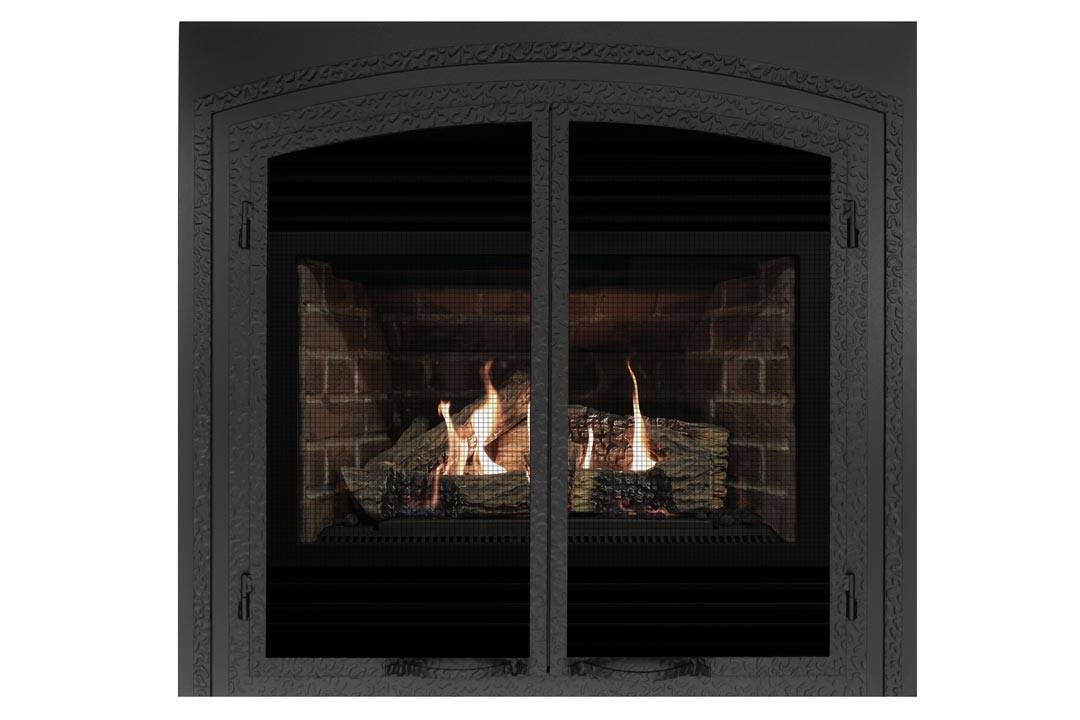 3400 gas fireplace fifsb red brick