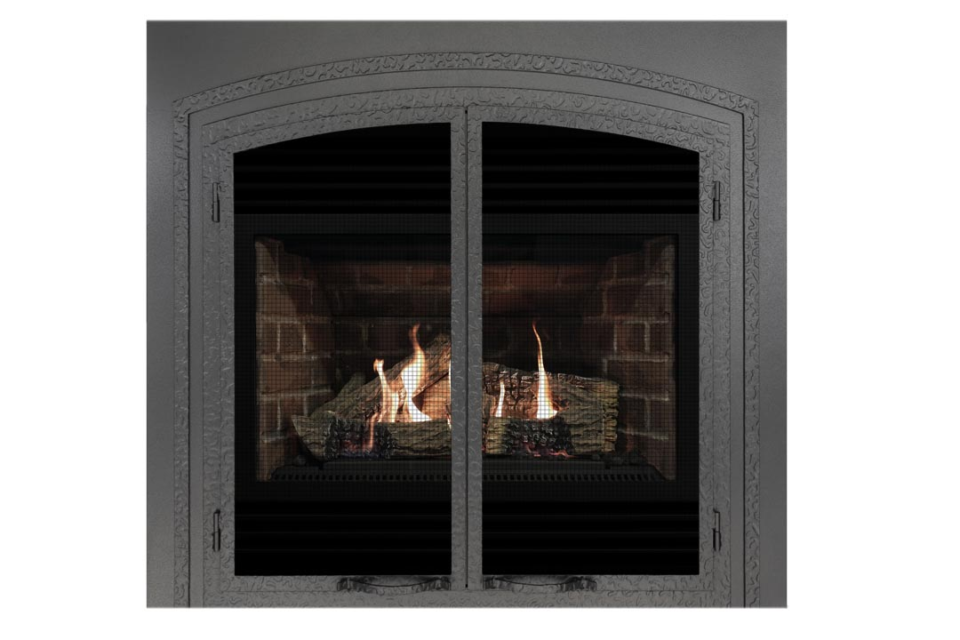 3400 gas fireplace fifsp red brick