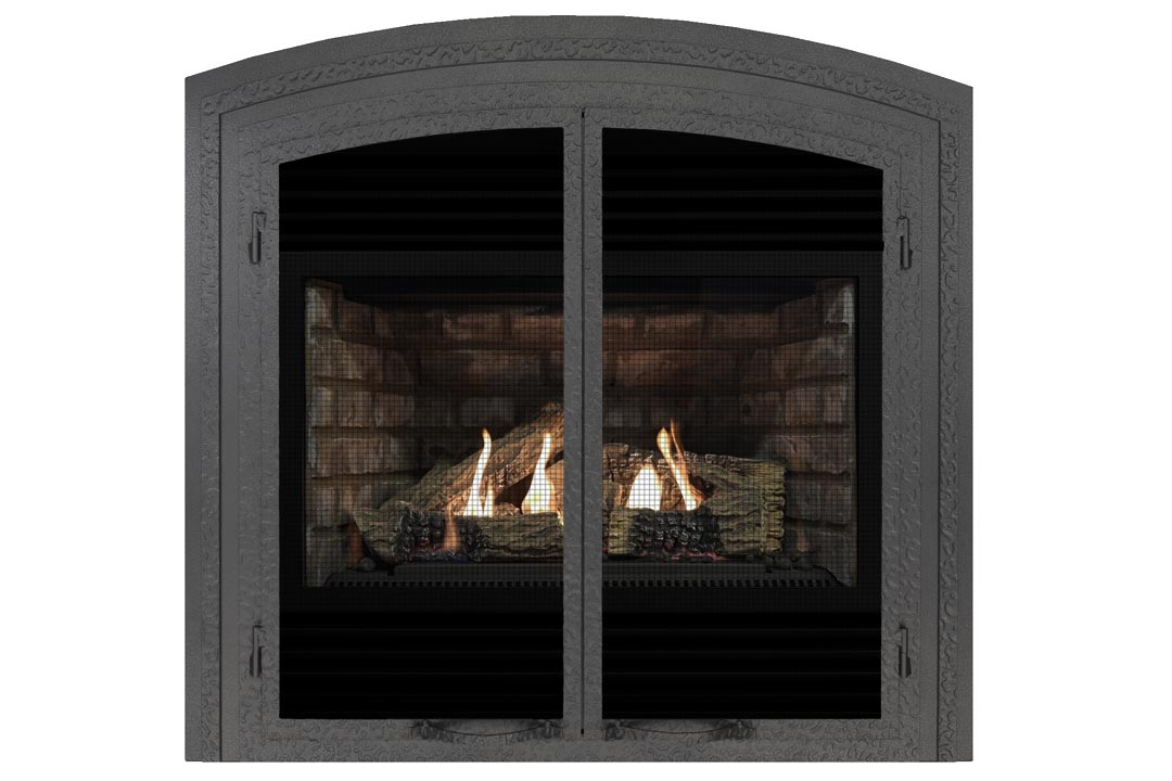 3400 gas fireplace fifap grey brick