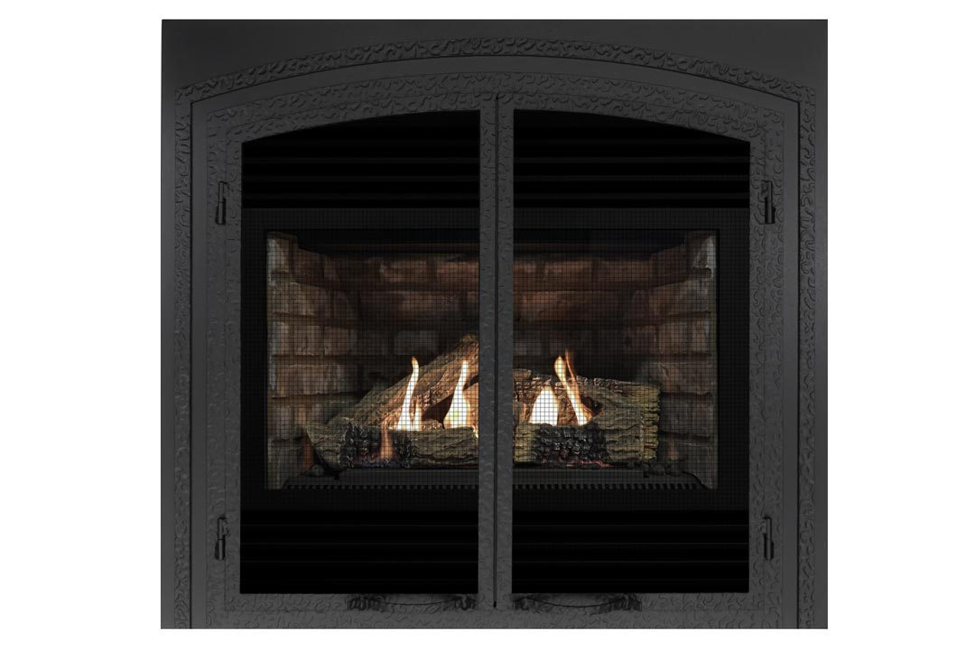 3400 gas fireplace fifsb grey brick