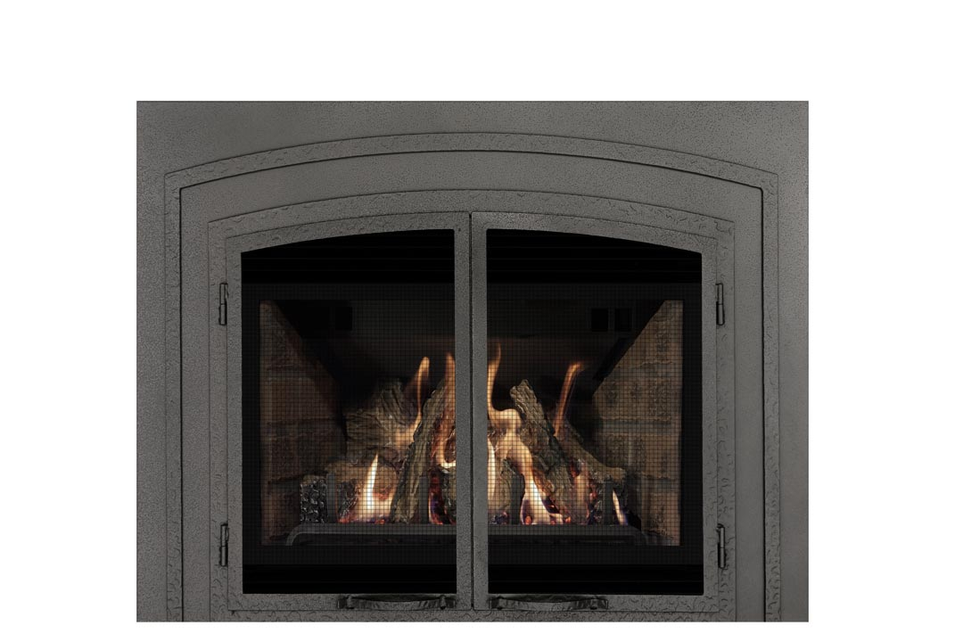 22 gas fireplace insert fifsp red brick