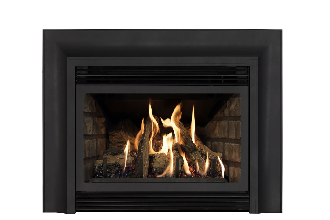 22 gas fireplace insert skcab grey brick