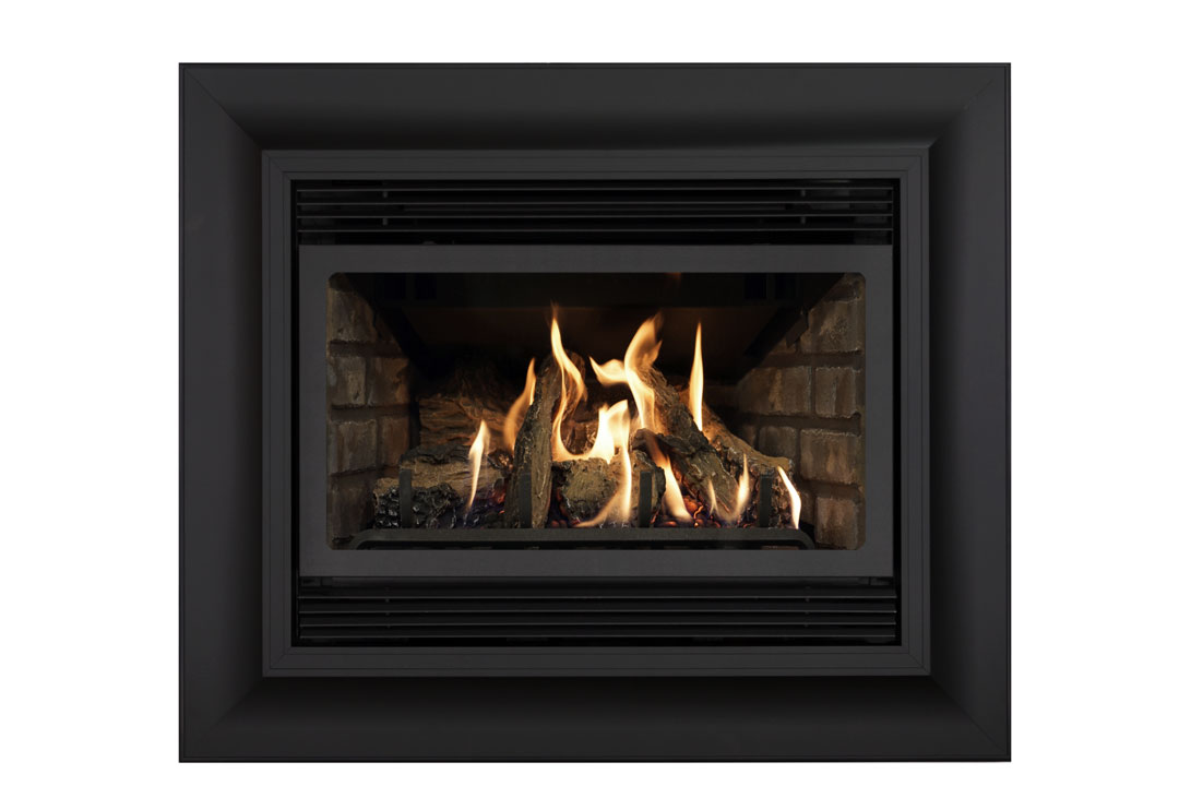 22 gas fireplace insert sk4cab grey brick