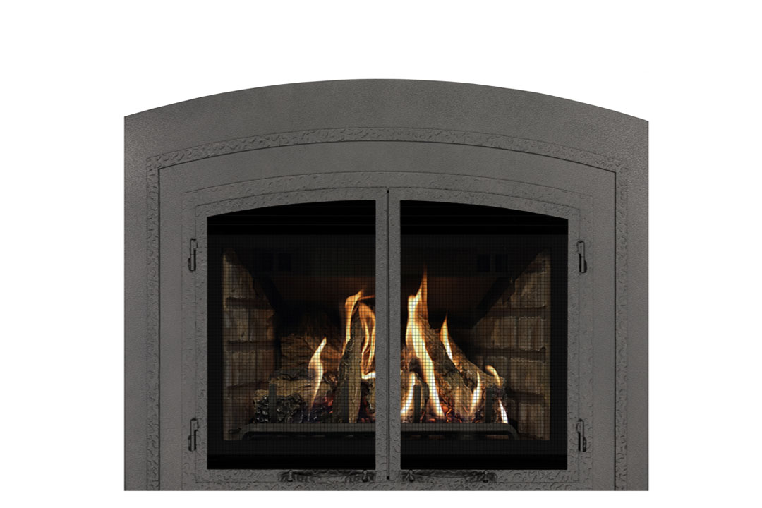 22 gas fireplace insert fifap grey brick