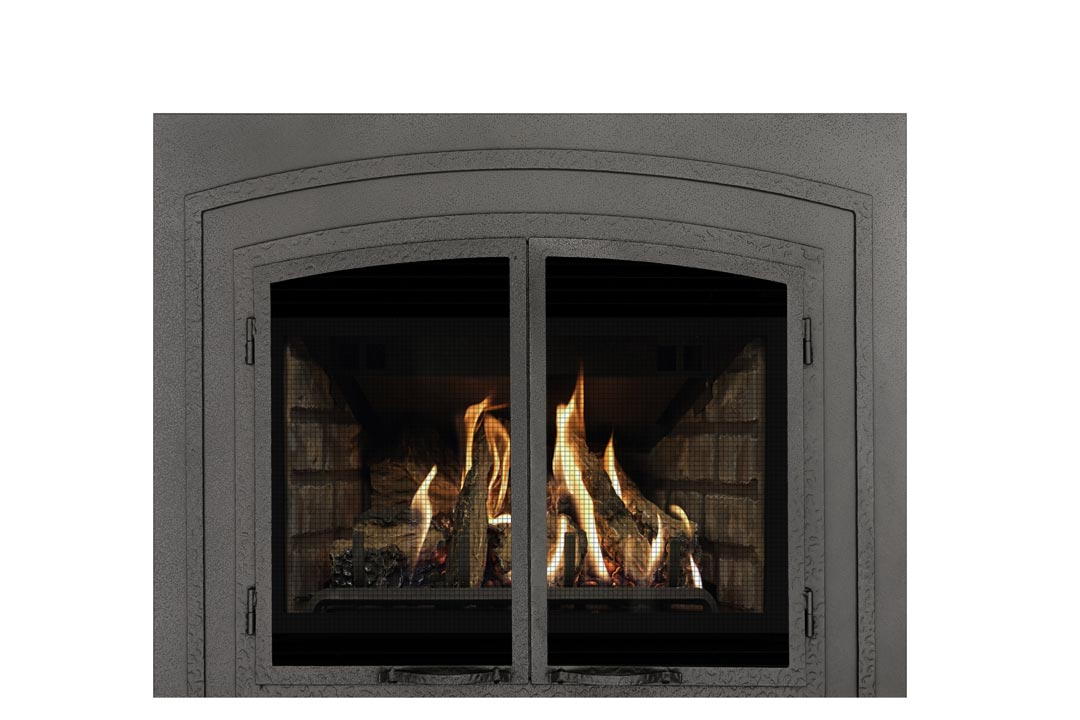 22 gas fireplace insert fifsp grey brick