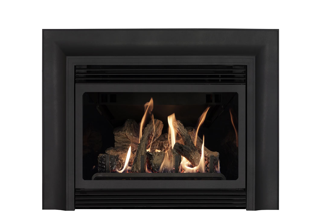 22 gas fireplace insert skcab reflective glass