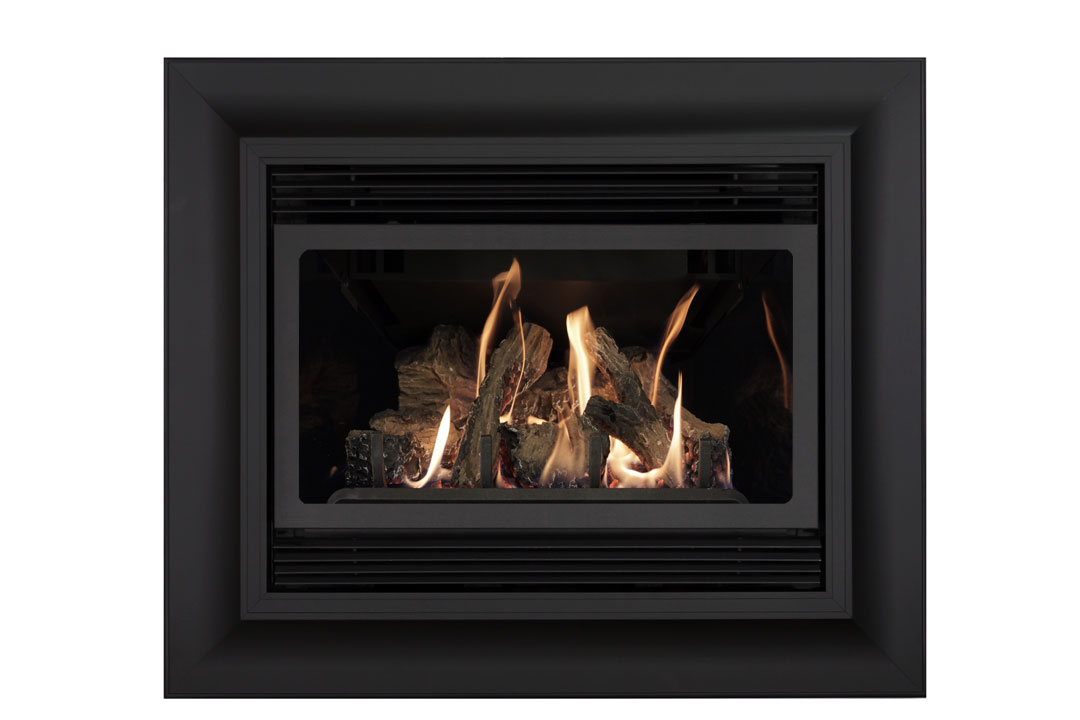 22 gas fireplace insert sk4cab reflective glass