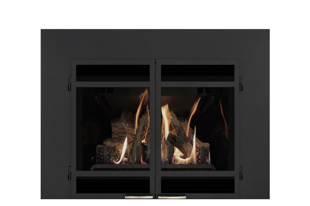 22 gas fireplace insert sdshmb reflective glass