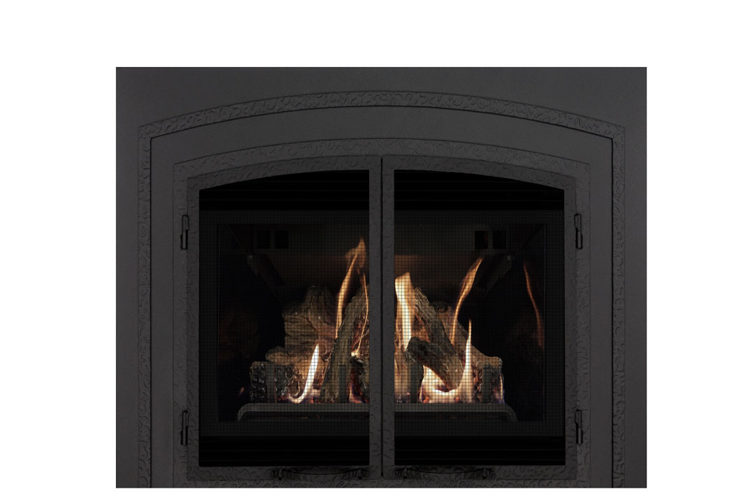 22 gas fireplace insert fifsb reflective glass