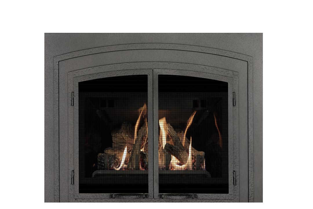 22 gas fireplace insert fifsp reflective glass