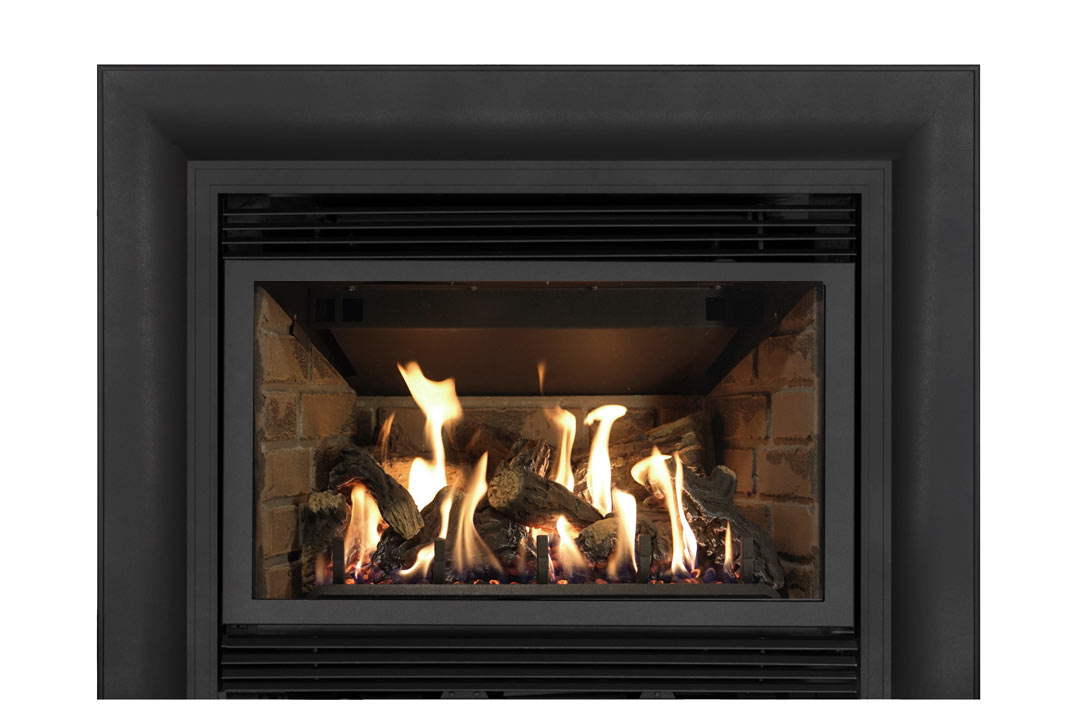 34 gas fireplace insert skcab red brick