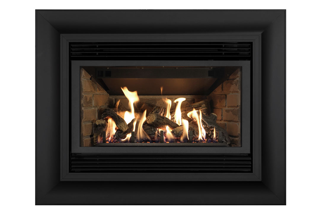 34 gas fireplace insert sk4cab red brick