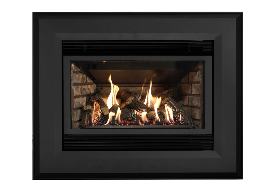 34 gas fireplace insert sk4bab grey brick
