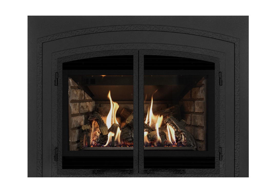 34 gas fireplace insert fifsb grey brick