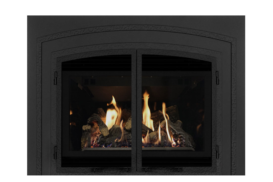 34 gas fireplace insert fifsb reflective glass