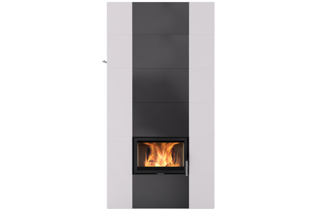 Salzburg xl 2 wood freestanding fireplce black dimond