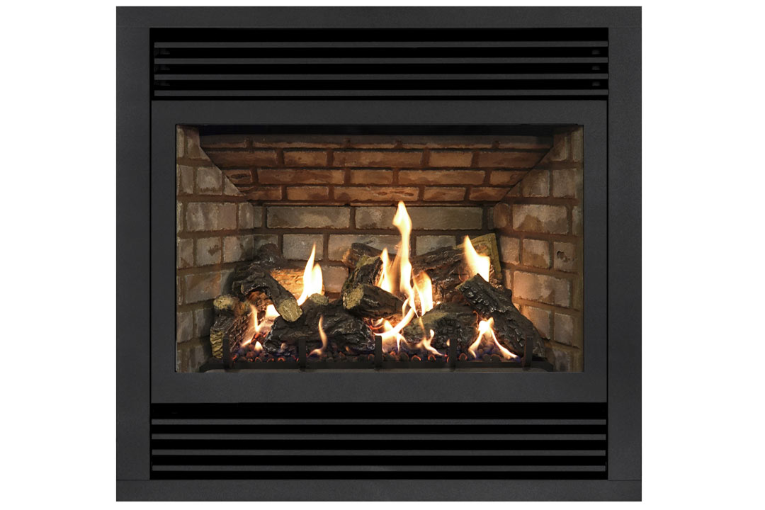 72 gas fireplace dvt40n grey brick
