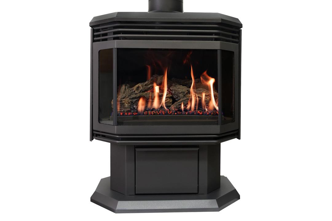 45 gas freestanfing stove black grills rg