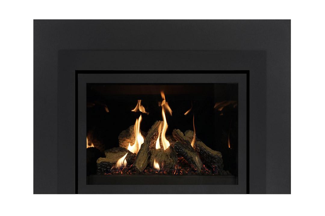 27 gas fireplace insert skhsbs reflective glass