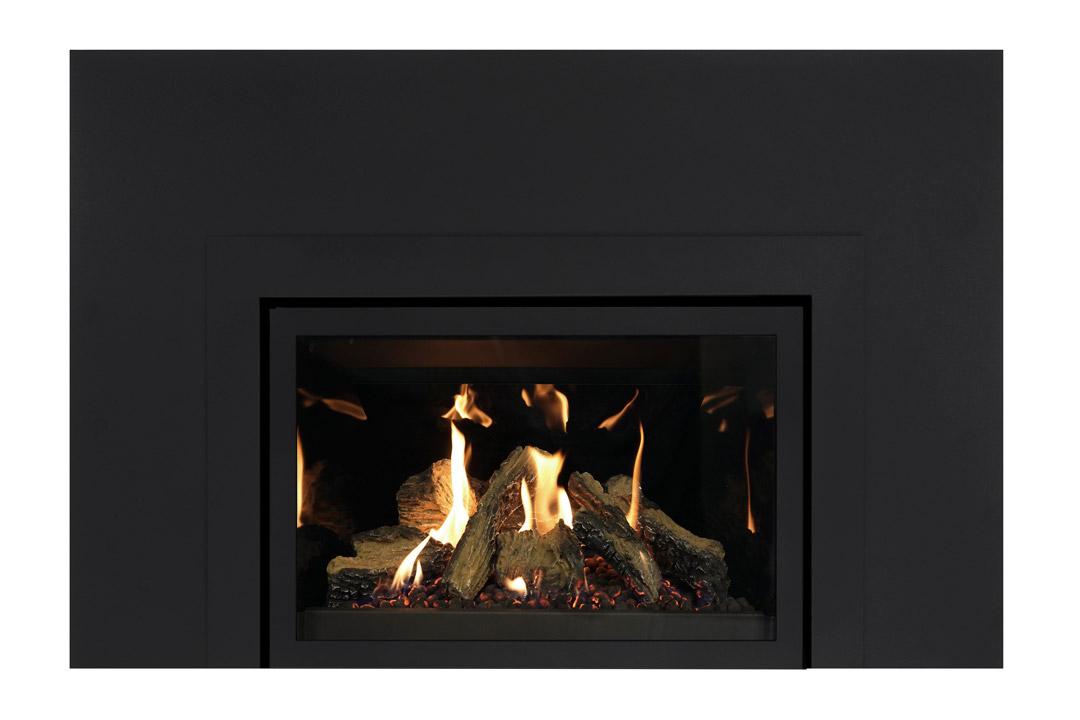 27 gas fireplace insert skhlbs reflective glass