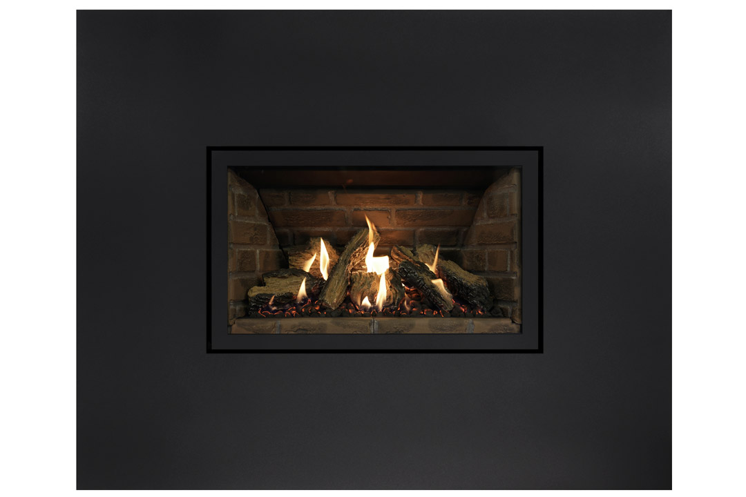 27 gas fireplace insert sk4blanks red panels
