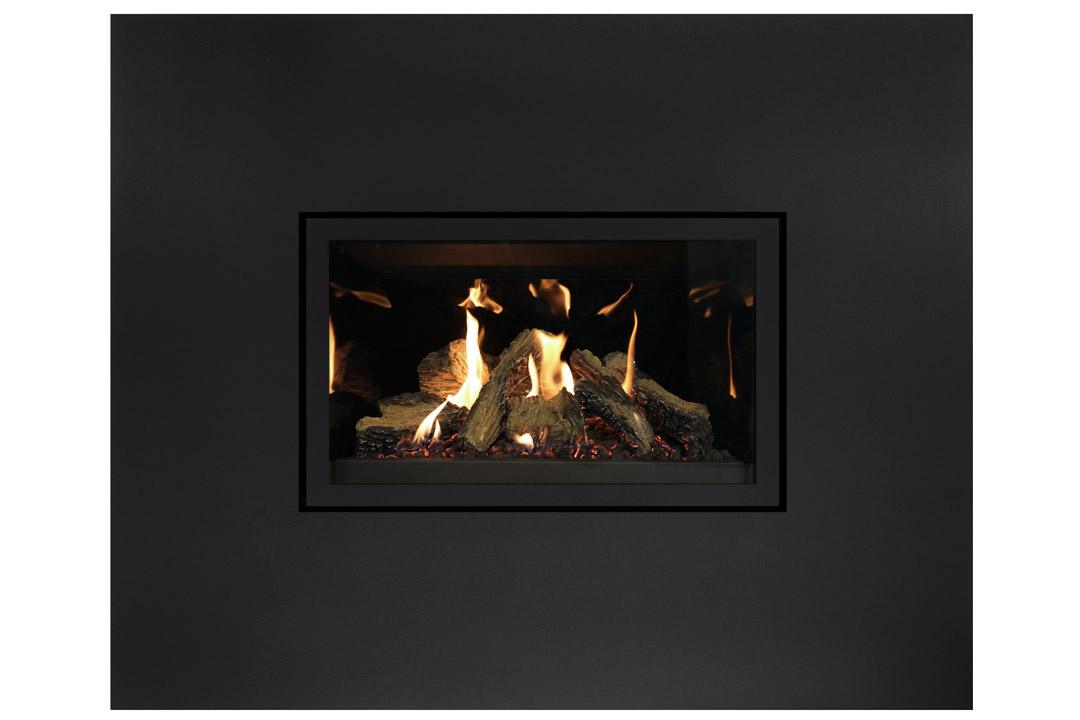 27 gas fireplace insert sk4blanks reflective glass