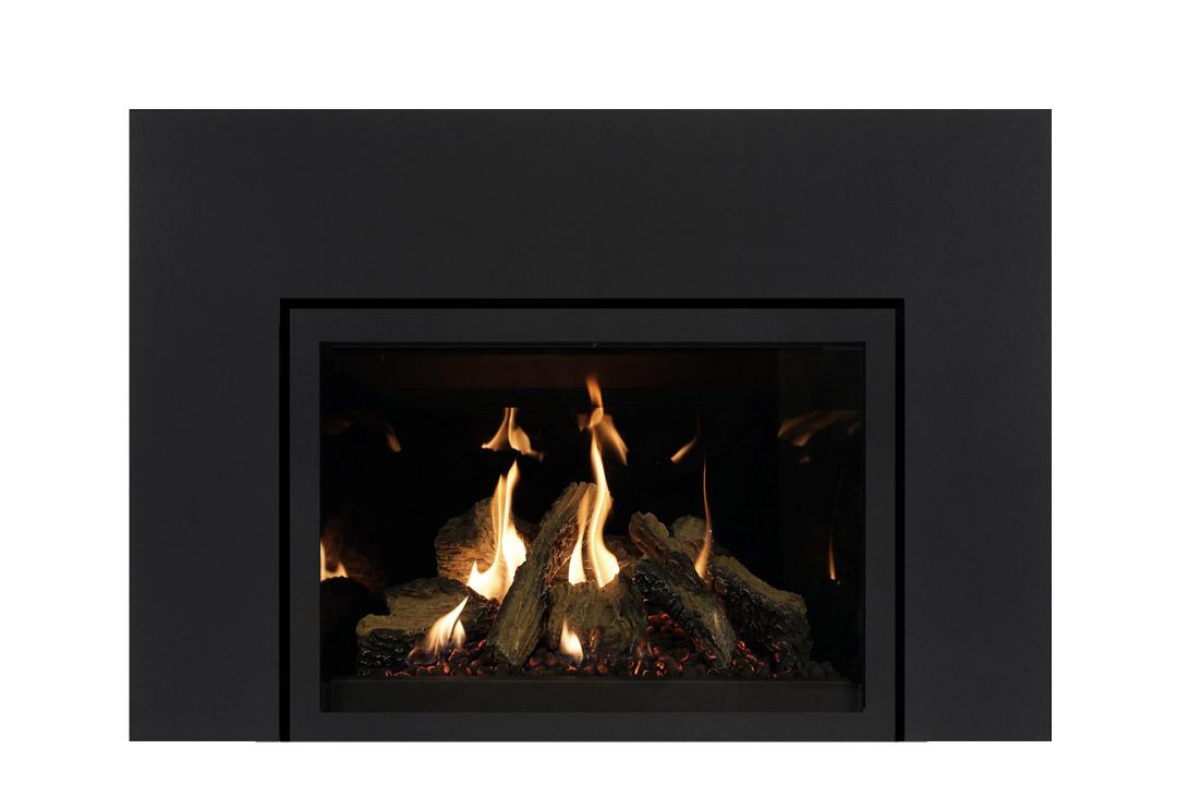 27 gas fireplace insert sksbs reflective glass