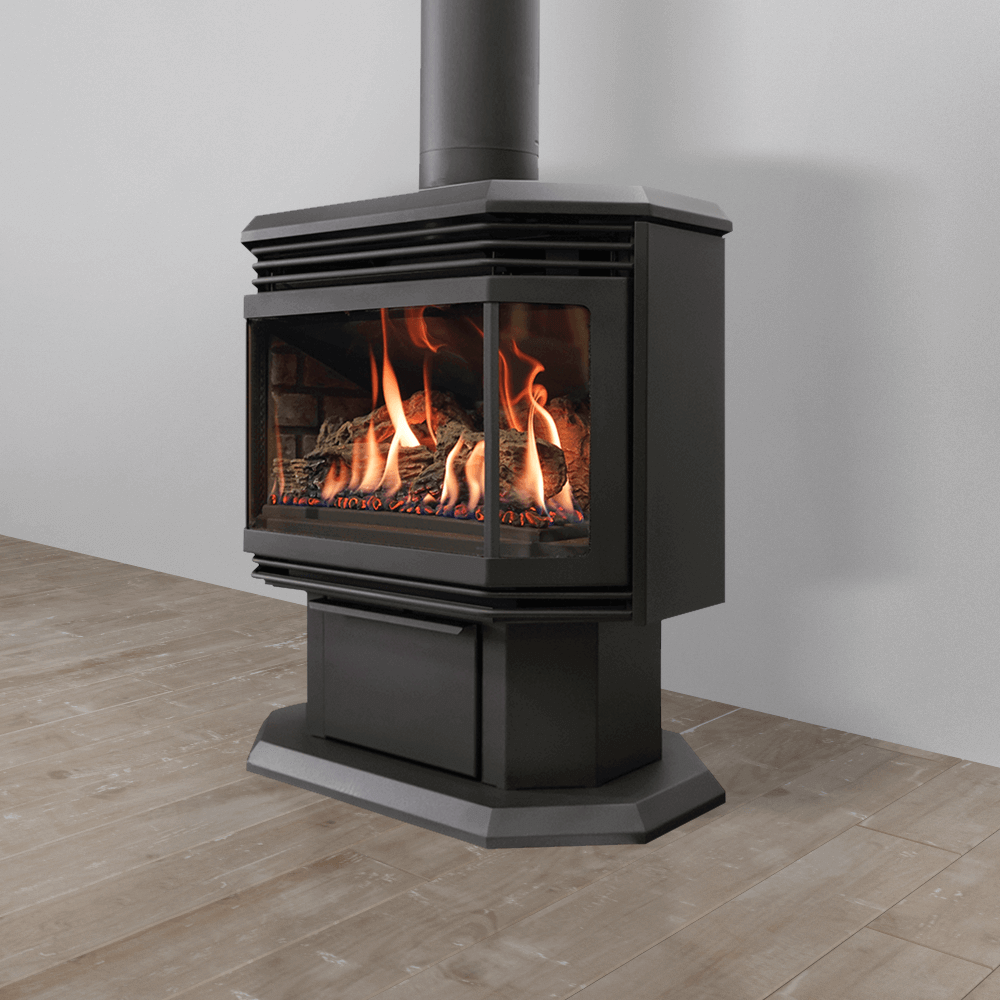 Gas freestanding stove