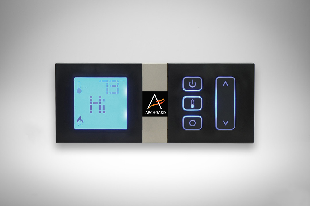 Wall mount remote control w logo