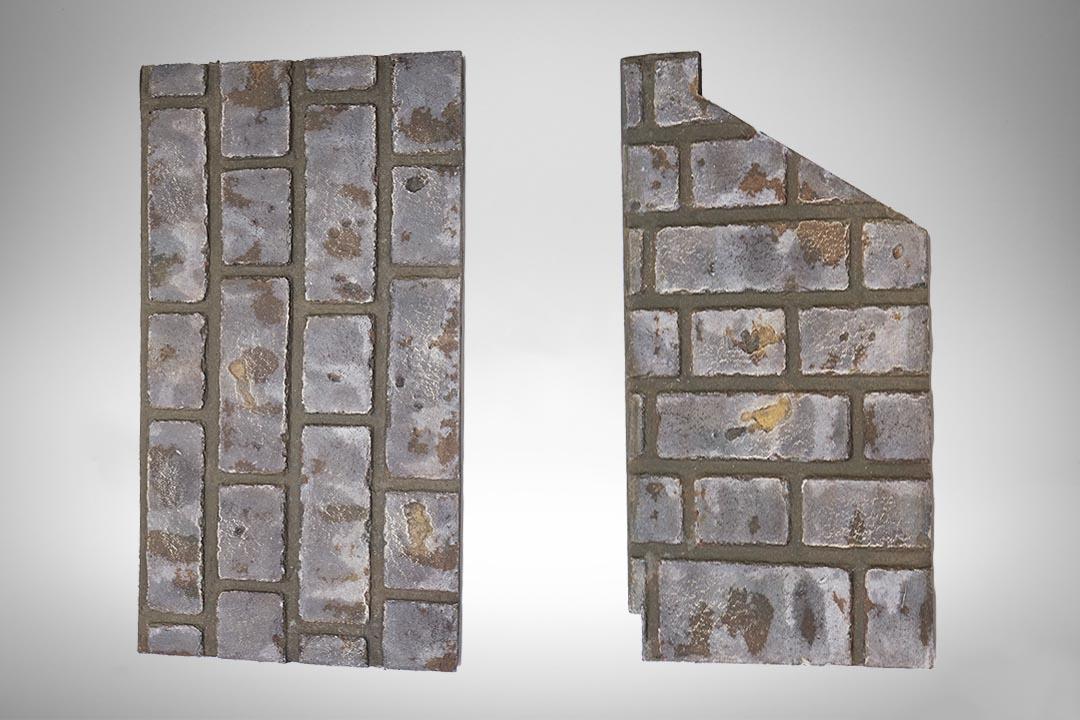 Brick panel grey 1