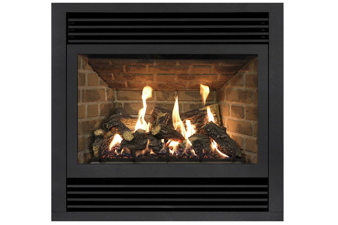 72 gas fireplace dvt40n red brick