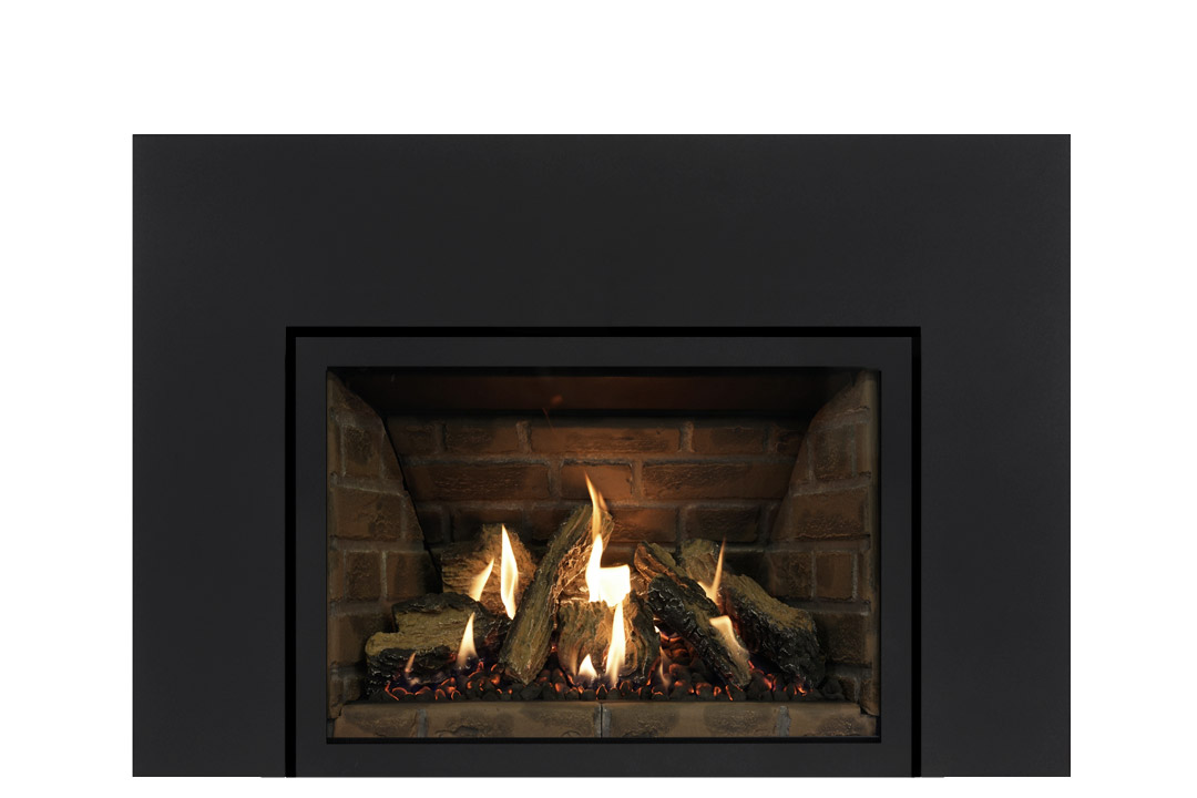 27 gas fireplace insert sksbs red