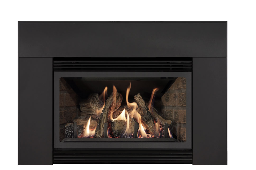 22 gas fireplace insert sklb red brick