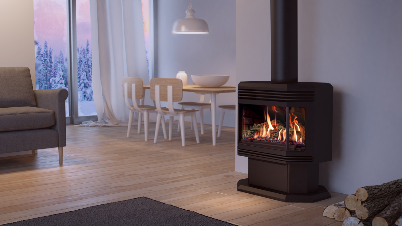 Gas freestanding stove 45 dvfs28n web
