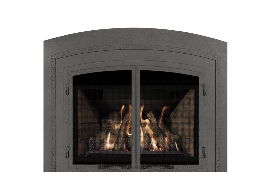 22 gas fireplace insert fifap red brick