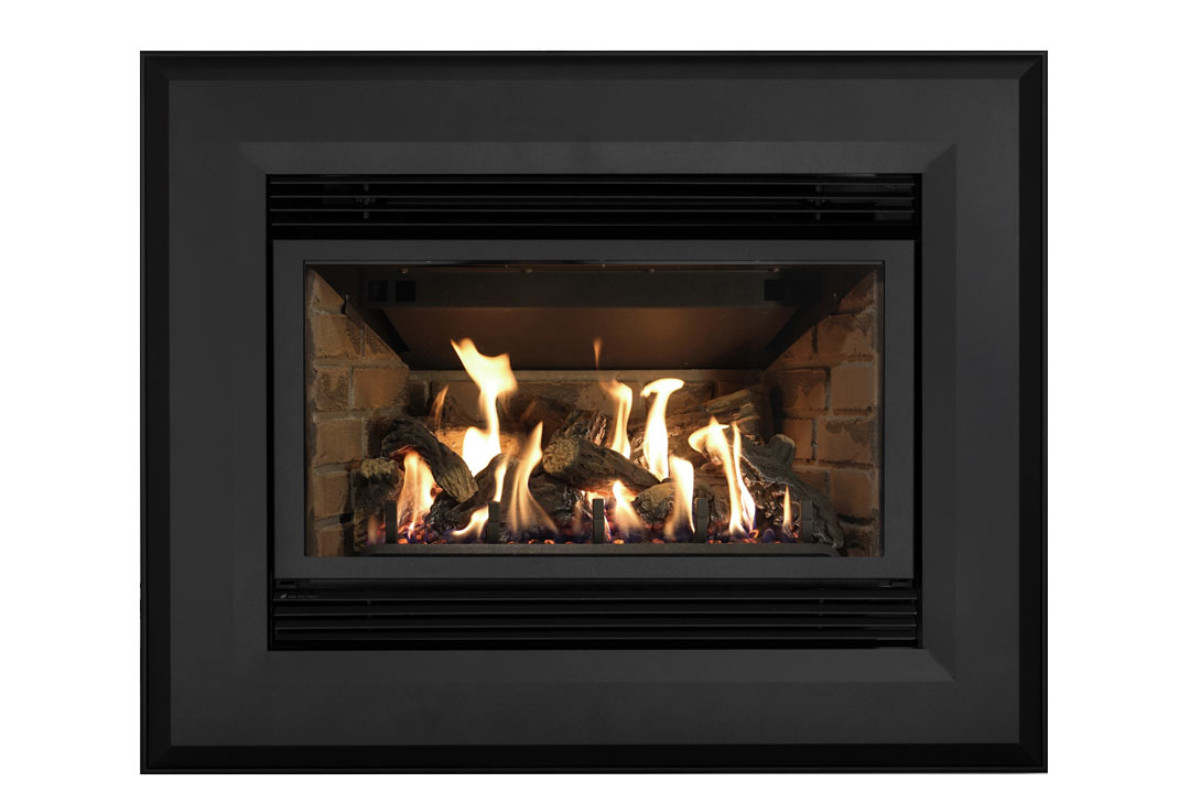 34 gas fireplace insert sk4bab red birck
