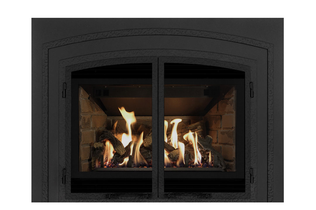 34 gas fireplace insert fifsb red brick