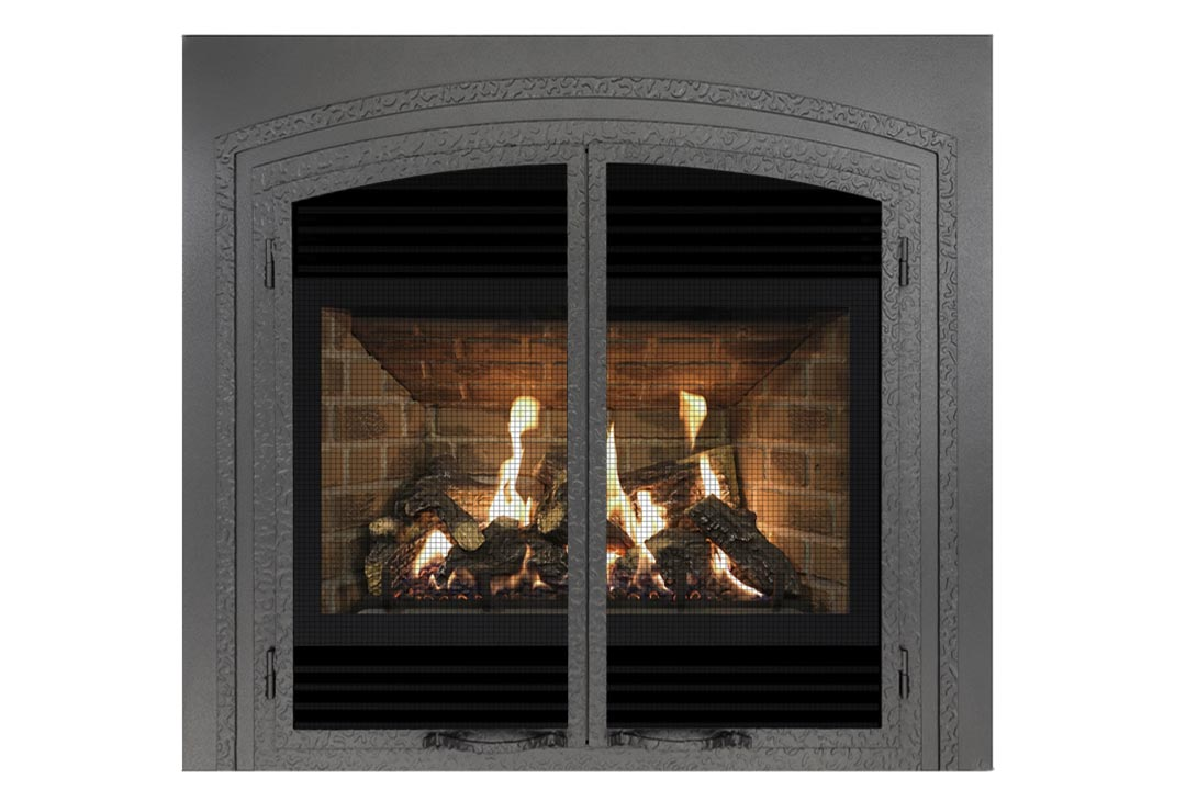 72 gas fireplace fifsp red brick