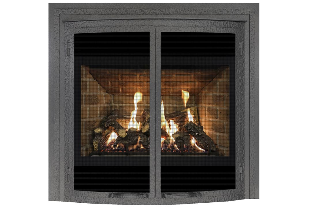 72 gas fireplace fifbowdp red brick